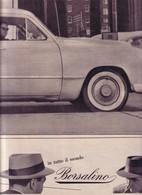 (pagine-pages)PUBBLICITA' BORSALINO   Leore1957/237. - Livres, BD, Revues