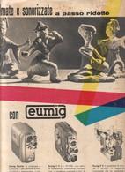 (pagine-pages)PUBBLICITA' EUMIG   Leore1957/237. - Livres, BD, Revues