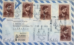 1968 , ARGENTINA , CERTIFICADO , PRIMER DIA DE EMISIÓN , OSVALDO MAGNASCO - Argentina