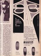 (pagine-pages)PUBBLICITA' PIRELLI  Epoca1957/368. - Livres, BD, Revues