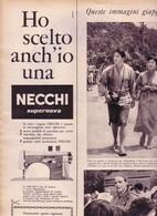 (pagine-pages)PUBBLICITA' NECCHI   Epoca1957/368. - Livres, BD, Revues