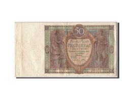 Billet, Pologne, 50 Zlotych, 1929, 1929-09-01, KM:71, TTB - Pologne