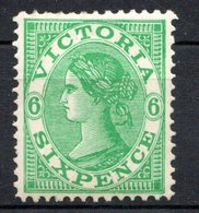 VICTORIA - (Confédération Australienne) - 1901 - N° 123 - 6  P. Vert - (Victoria) - 1850-1912 Victoria