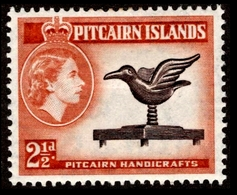 1957 Pitcairn Islands - Stamps