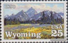 USA 2078 (completa Edizione) MNH 1990 100 Anni Wyoming - Verenigde Staten