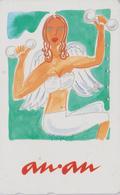 Télécarte Japon / 110-011 - Femme GYMNASTIQUE Musculation - Girl Sport Japan Phonecard - Haltérophilie - 84 - Sport