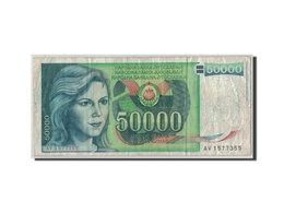 Billet, Yougoslavie, 50,000 Dinara, 1988, 1988-05-01, KM:96, B - Yougoslavie