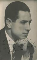 OPERA CLASSICAL MUSIC - Argentinian Pianist ANTONIO DE RACO - Photo Gerard 1953 With Autograph Dedicacee Hand Signed - Fotos Dedicadas