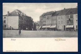 Arlon. Place Du Marché. Bazard Walens. A. Jacquet Fils, Fabricant De Parapluies. Ca 1900 - Arlon