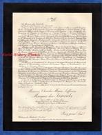 Document De 1911 - Château De MARTINET (Vaucluse) - Charles Marie SIFFREIN Marquis Des ISNARDS Officier Cavalerie - Documents
