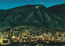 VISTA PANORAMICA DE CARACAS CON HOTEL HUMBOLDT, CERRO AVILA, VENEZUELA, INTANA. VOYAGEE CIRCA 1980s - BLEUP - Venezuela