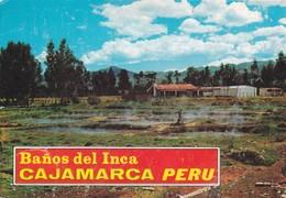 BAÑOS DEL INCA. CAJAMARCA, PERU. TERMAS. TRIUNFO SA. CIRCULADO 1990s A BUENOS AIRES - BLEUP - Pérou