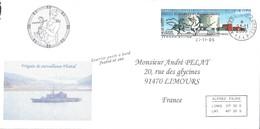 TAAF - Alfred Faure - Crozet : Lettre Avec Timbre N°415 Station Concordia - OMEC SECAP Du 21/11/2005 - Terres Australes Et Antarctiques Françaises (TAAF)
