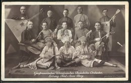 Foto-AK Grossrussisches Ukrainisches Balalaika-Orchester - Music And Musicians