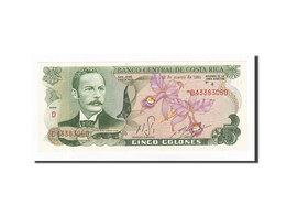 Billet, Costa Rica, 5 Colones, 1968-1972, 1981-03-12, KM:236d, NEUF - Costa Rica