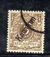 XP4390 - KAMERUN CAMERUN 1896 , 3 Pf N. 1  Usato (23/2380A) - Kolonie: Kamerun