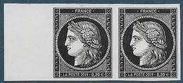Cérès 170 Ans Du Premier Timbre Poste Français - Paire  (2019) Neuf** - Unused Stamps
