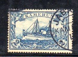 XP4393 - KAMERUN CAMERUN 1900 , 2 Mk Usato N. 17  (2380A) - Colonie: Cameroun
