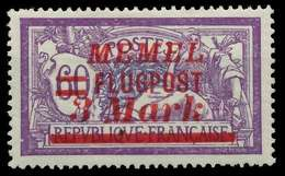 MEMEL 1922 Nr 103 Ungebraucht X8865F6 - Memelgebiet
