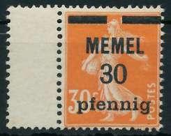 MEMEL 1920 Nr 21z Postfrisch X8876D6 - Memelgebiet