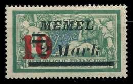 MEMEL 1923 Nr 121 Postfrisch X887786 - Memelgebiet