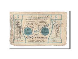 Billet, France, Louvroil, 5 Francs, 1914, TB, Pirot:59-1664 - Bonds & Basic Needs