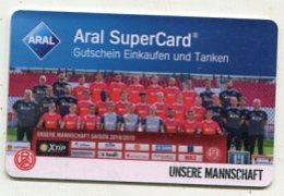 GC 00211 ARAL SuperCard - Rot Weiss Essen - Team - Cartes Cadeaux
