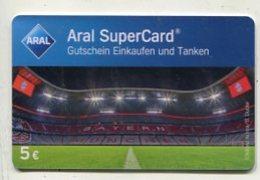 GC 00214 ARAL SuperCard - Bayern München - Stadium - Cartes Cadeaux