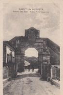 AUGUSTA-SIRACUSA-ANTICA PORTA SPAGNOLA-CARTOLINA NON VIAGGIATA -ANNO 1910-1920 - Siracusa