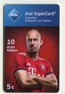 GC 00219 ARAL SuperCard - Bayern München - 10 Arjen Robben - Cartes Cadeaux