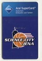 GC 00227 ARAL SuperCard - Science City Jena - Logo - Cartes Cadeaux