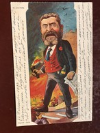 1 CP Illustrateur - MOLOCH - Peinture De Sirat - Jaures    - Politique Satirique - Moloch