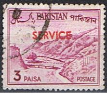 (PAK 32) PAKISTAN // YVERT 81 A (TIMBRE SERVICE) //  1963-70. - Pakistan