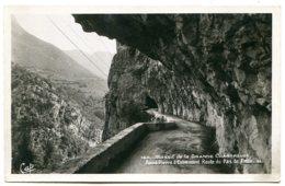 38446 SAINT PIERRE D'ENTREMONT - Route Du Pas Du Frou - CPSM 9x14 Réal-photo - Saint-Pierre-d'Entremont