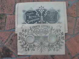 Rare Carte Lettre Stéréoscope , Paris Sous La Tour Eiffel. - A Systèmes