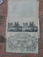 Rare Carte Lettre Stéréoscope , Notre Dame , Vue Des Quais. - A Systèmes