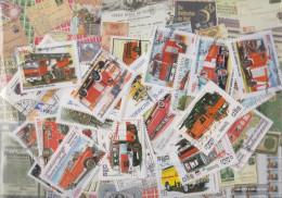 Motives 50 Different Fire Stamps - Firemen