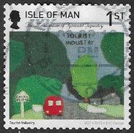 Isle Of Man 2015 Tynwald Tapestry 1st Type 3 Self Adhesive Good/fine Used [39/32021/ND] - Isle Of Man