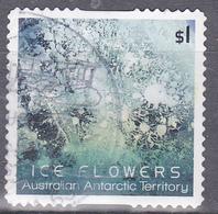 2016. AAT. Australian Antarctic Territory. Ice Flowers $1. Ice Flower. P&S. FU. - Australian Antarctic Territory (AAT)