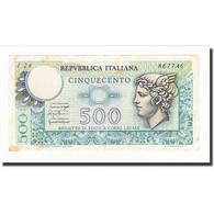 Billet, Italie, 500 Lire, 1976-12-20, KM:95, TTB - [ 2] 1946-… : Républic