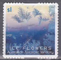 2016. AAT. Australian Antarctic Territory. Ice Flowers $1. Ice Flower. Blue. P&S. FU. - Australian Antarctic Territory (AAT)