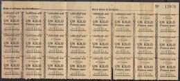 Bons Pour 1 Kg. De Potasse Pure, G.I.R.P.I.A. Charente Maritime, Campagne 1942-43. - Fiscaux
