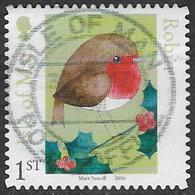 Isle Of Man 2016 Matt Sewell's Birds 1st Type 2 Self Adhesive Good/fine Used [39/32024/ND] - Isle Of Man