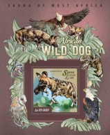 Sierra Leone 2015 Fauna  African Wild Dog - Sierra Leone (1961-...)