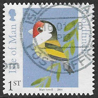 Isle Of Man 2016 Matt Sewell's Birds 1st Type 4 Self Adhesive Good/fine Used [39/32025/ND] - Isle Of Man