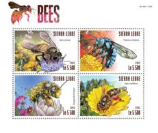 Sierra Leone 2015 Fauna  Bees - Sierra Leone (1961-...)