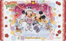 Télécarte Privée NEUVE Japon - DISNEY - NOEL - CHRISTMAS FANTASY 2010 - Japan MINT Phonecard - Disney