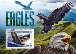 Sierra Leone 2015 Fauna  Eagles - Sierra Leone (1961-...)
