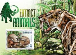 Sierra Leone 2015 Fauna  Extinct Animals, - Sierra Leone (1961-...)