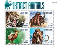 Sierra Leone 2015 Fauna  Extinct Animals, Dodo Bird - Sierra Leone (1961-...)